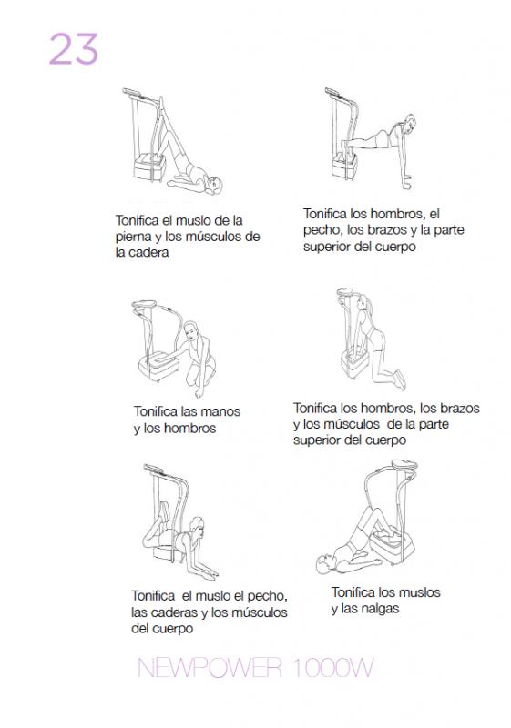 ejercicios 2 newpowe 1000W